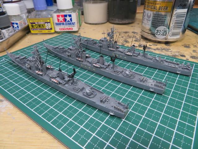 1/700  あやなみ後期型護衛艦 の3