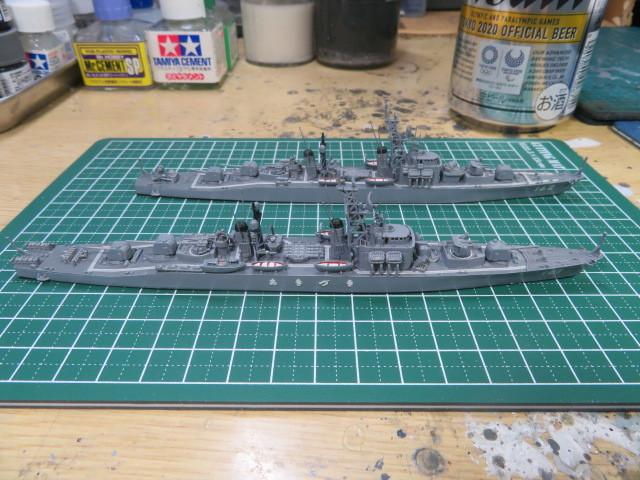 1/700  あきづき型護衛艦(初代) の1