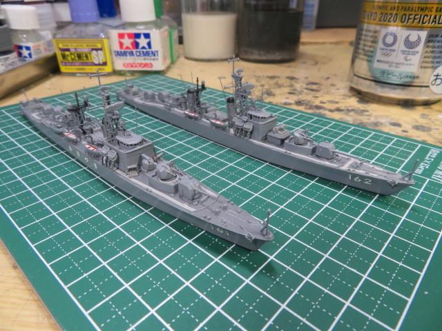 1/700  あきづき型護衛艦(初代) の2