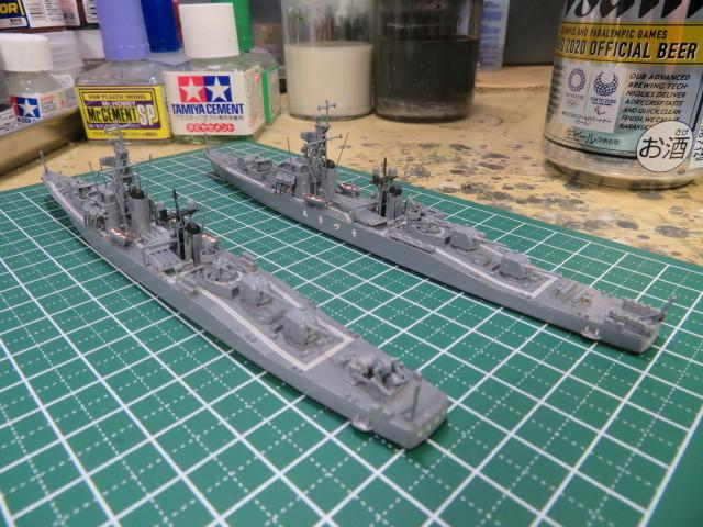 1/700  あきづき型護衛艦(初代) の3
