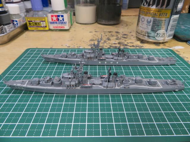 1/700  あきづき型護衛艦(初代) の4