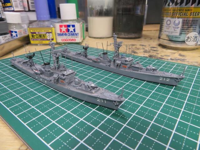 1/700  いすず前期型 護衛艦 の2