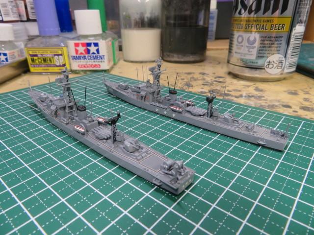 1/700  いすず前期型 護衛艦 の3