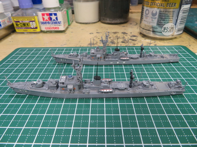 1/700  いすず前期型 護衛艦 の4