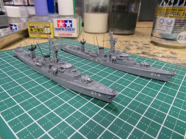 1/700  いすず 後期型 護衛艦 の2