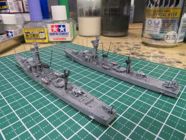 1/700  いすず 後期型 護衛艦 の3