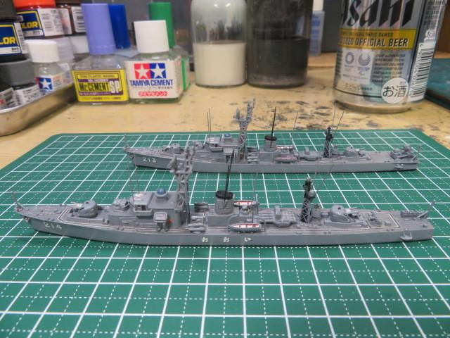 1/700  いすず 後期型 護衛艦 の4
