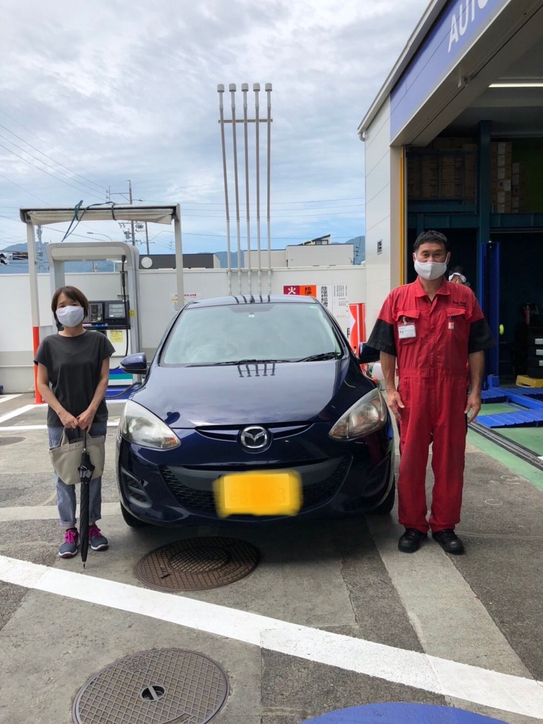 デミオ納車増田