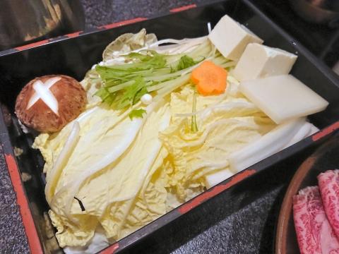 野菜セット@しゃぶ亭