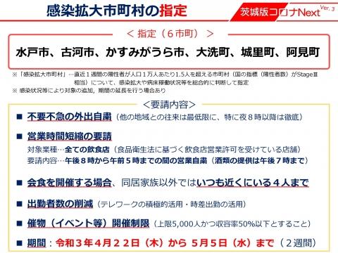 令和3年4月19日「感染拡大市町村の指定がされました。」_000008