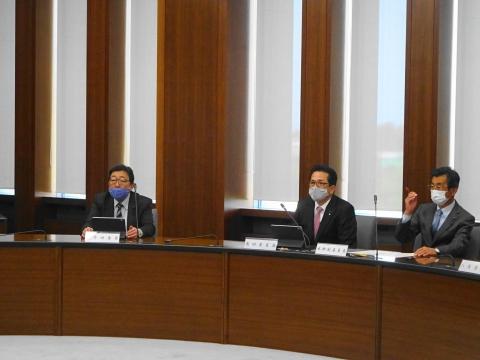 「茨城県議会情報委員会が開かれました。」②