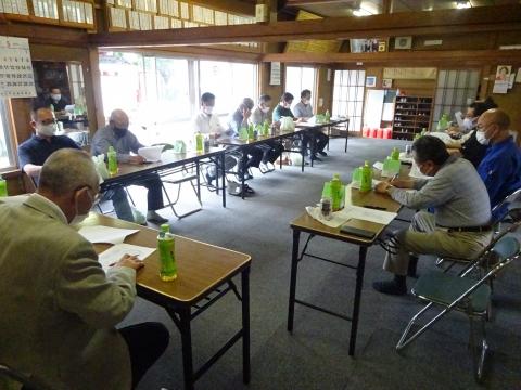 「令和3年度若宮八幡神社総代会」総会⑦