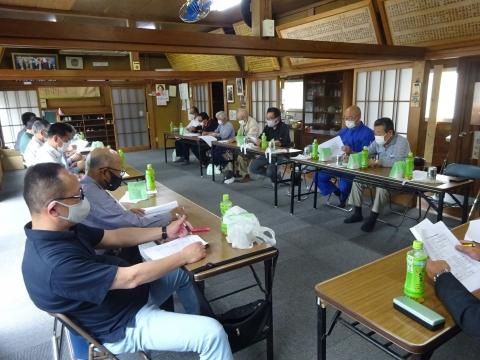 「令和3年度若宮八幡神社総代会」総会⑧