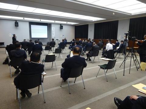 「茨城県議会第2回定例会が始まりました!」本会議・情報委員会・政務調査会原子力研究会⑧