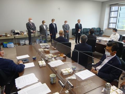 「茨城県議会第2回定例会が始まりました!」本会議・情報委員会・政務調査会原子力研究会②1