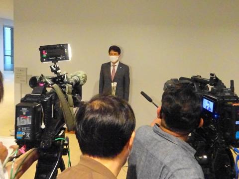 「大井川茨城県知事が2期目の立候補表明をしました!」①