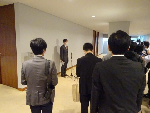 「大井川茨城県知事が2期目の立候補表明をしました!」②