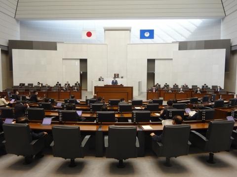 「茨城県第2回定例会に於いて一般質問が終了しました!」②