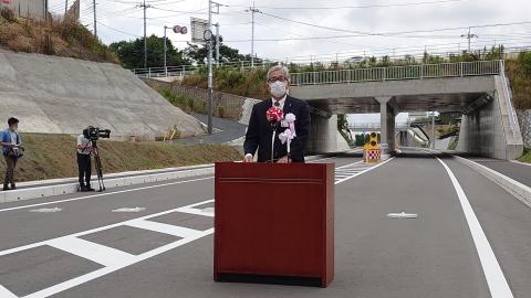 「茨城空港アクセス道路が全線開通しました!」⑦