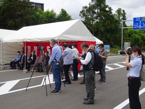 「茨城空港アクセス道路が全線開通しました!」⑨1