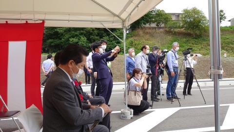 「茨城空港アクセス道路が全線開通しました!」⑧
