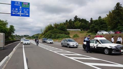 「茨城空港アクセス道路が全線開通しました!」⑱