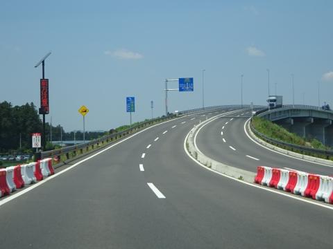 「茨城空港アクセス道路が全線開通しました!」㊾