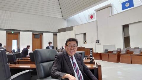 「第2回定例会閉会!戸井田委員長報告・大井川知事挨拶」⑤