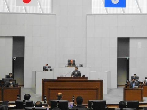「第2回定例会閉会!戸井田委員長報告・大井川知事挨拶」②