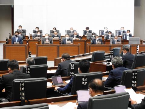 「第2回定例会閉会!戸井田委員長報告・大井川知事挨拶」⑥