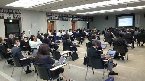 「第2回定例会閉会!戸井田委員長報告・大井川知事挨拶」⑩