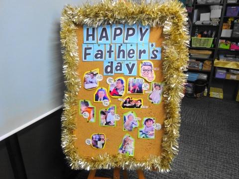 「HAPPY!FathersDay!」父の日パーリィーを開いてくれました!①