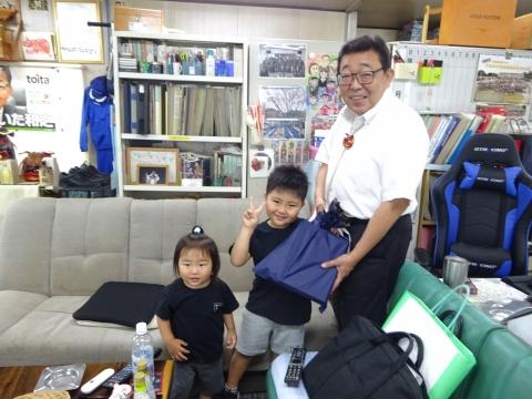「HAPPY!FathersDay!」父の日パーリィーを開いてくれました!②