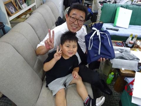 「HAPPY!FathersDay!」父の日パーリィーを開いてくれました!④