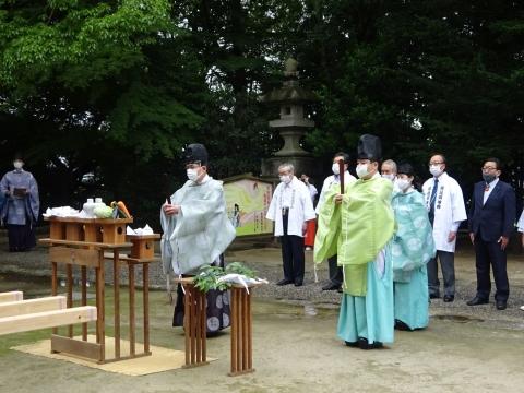 「八坂神社祇園祭」常陸國總社宮境内神輿渡御 (3)