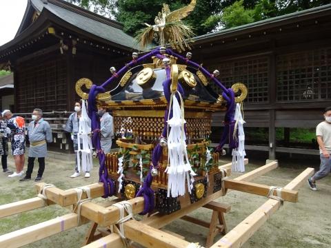 「八坂神社祇園祭」常陸國總社宮境内神輿渡御 (4)