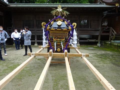 「八坂神社祇園祭」常陸國總社宮境内神輿渡御 (5)