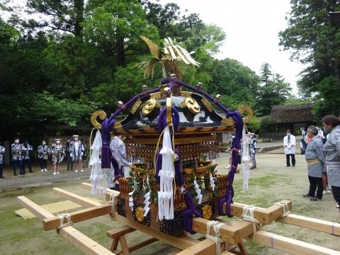「八坂神社祇園祭」常陸國總社宮境内神輿渡御 (7)