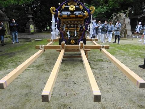「八坂神社祇園祭」常陸國總社宮境内神輿渡御 (8)