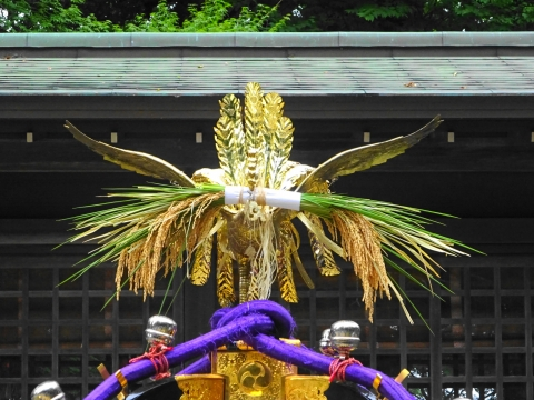 「八坂神社祇園祭」常陸國總社宮境内神輿渡御 (10)