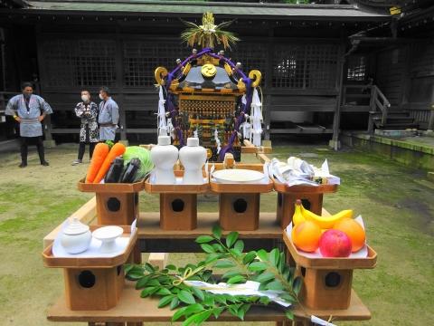 「八坂神社祇園祭」常陸國總社宮境内神輿渡御 (11)