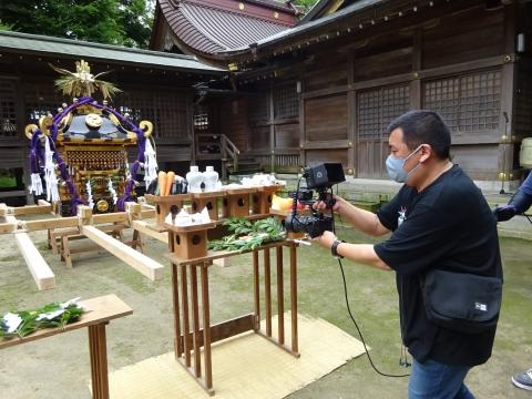 「八坂神社祇園祭」常陸國總社宮境内神輿渡御 (12)