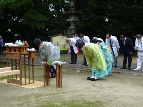 「八坂神社祇園祭」常陸國總社宮境内神輿渡御 (13)