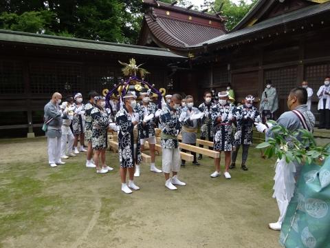 「八坂神社祇園祭」常陸國總社宮境内神輿渡御 (14)