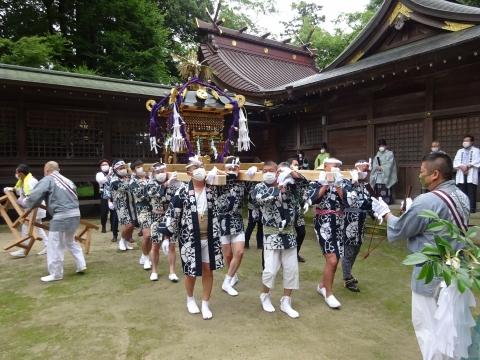 「八坂神社祇園祭」常陸國總社宮境内神輿渡御 (15)