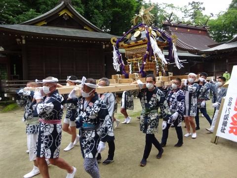 「八坂神社祇園祭」常陸國總社宮境内神輿渡御 (16)