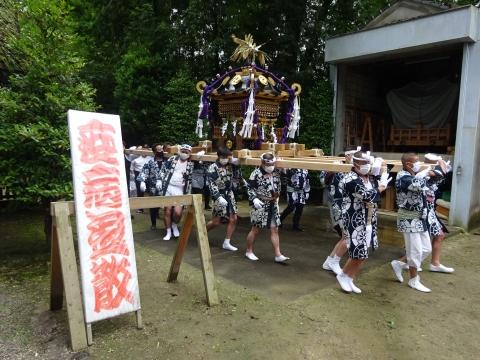 「八坂神社祇園祭」常陸國總社宮境内神輿渡御 (17)