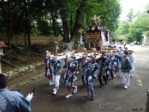 「八坂神社祇園祭」常陸國總社宮境内神輿渡御 (18)
