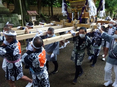 「八坂神社祇園祭」常陸國總社宮境内神輿渡御 (19)