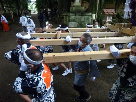「八坂神社祇園祭」常陸國總社宮境内神輿渡御 (20)